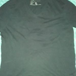 BANANA REPUBLIC large black t shirt